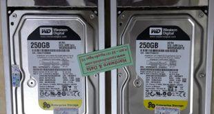 Khôi phục dữ liệu Raid1 250Gb