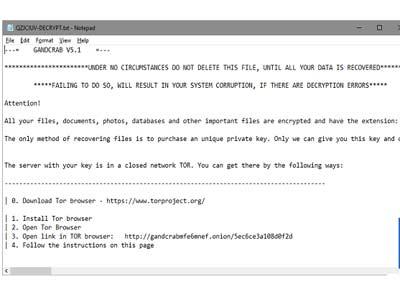 virus mã hóa đòi tiền chuộc
