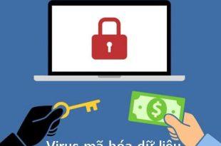 virus mã hóa dữ liệu